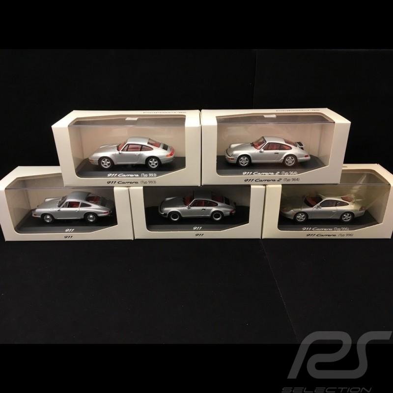 Set Porsche 911 History Serien 1/43 Minichamps WAP020SET01