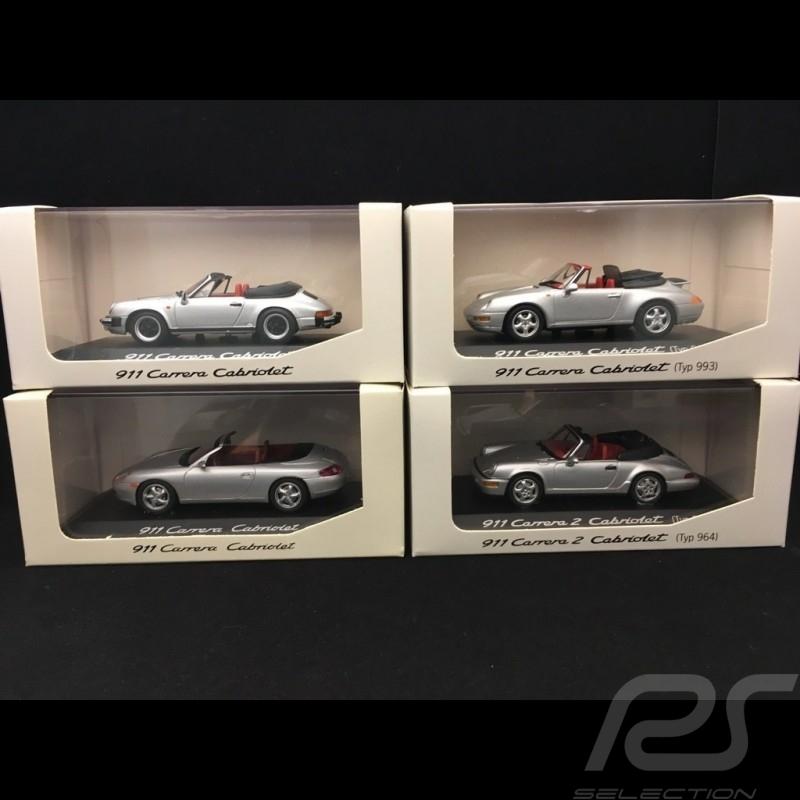 Set Porsche 911 Cabriolet 1/43 Minichamps WAP020SET02
