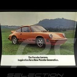 Brochure Porsche Gamme Porsche 1975 en anglais