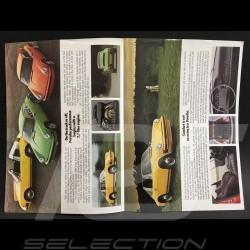 Brochure Porsche Gamme Porsche 1974 en anglais