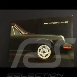 Brochure Porsche Gamme Porsche 1975 en anglais 32 pages