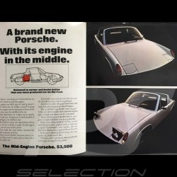 Porsche Brochure Porsche 914/6 and 914/4 in english very large format