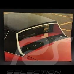 Porsche Broschüre 914 1975 in Englisch