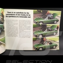 Porsche Brochure 914 1975 in english