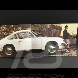 Brochure Porsche 911 et 912 Septembre 1966 en Français Anglais Allemand