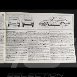 Porsche Broschüre Brochure Porsche 911 und 912 September 1966 in Französich Englisch Deutsch