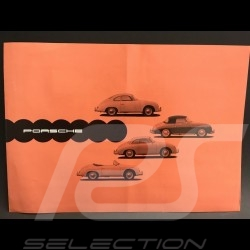 Brochure Porsche 356 A Septembre 1957 en allemand german deutsch