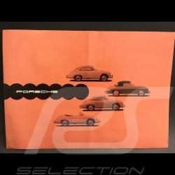 Porsche Broschüre 356 A September 1957 in Englisch