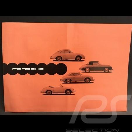 Brochure Porsche 356 A Septembre 1957 en allemand german deutsch