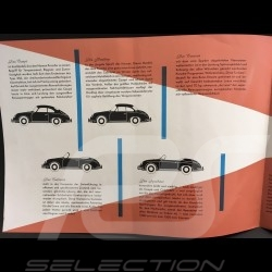 Porsche Brochure 356 A September 1957 in english