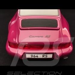 Porsche 911 RS type  964 Carrera RS 1992 rubis rot stern 1/18 GT SPIRIT ZM095