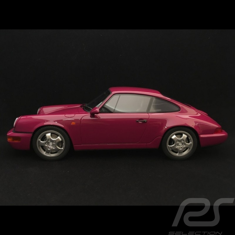 Porsche 911 RS type 964 Carrera RS 1992 1/18 GT SPIRIT ZM095 rouge rubis étoile ruby star red sternrubin rot