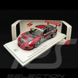 Porsche 911 GT3 Cup type 991 Vainqueur Winner Sieger Carrera Cup Japon Fuji 2017 n° 23 Hamprecht 1/43 Spark SJ052