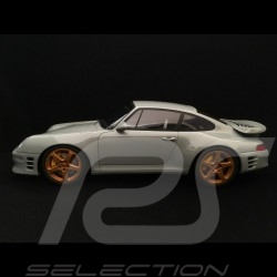 Porsche 911 type 993 RUF Turbo R Coupe 1998 gris 1/18 GT Spirit GT145