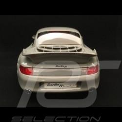 Porsche 911 type 993 RUF Turbo R Coupe 1998 grey 1/18 GT Spirit GT145