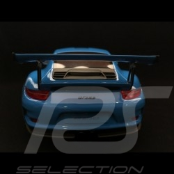 Porsche 911 type 991 GT3 RS 2013 bleu 1/18 GT Spirit GT139 blue blau