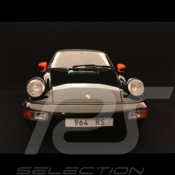 Porsche 911 type 964 Carrera RS Coupe 1989 noir 1/18 GT Spirit GT137
