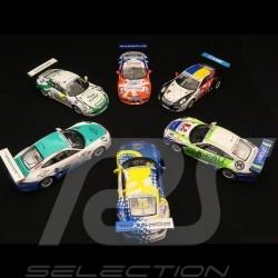 Set von 6 Porsche 991 GT3 Cup National Carrera Cup Sieger SG273 AS022 SF114 SJ051 UK001 SI005