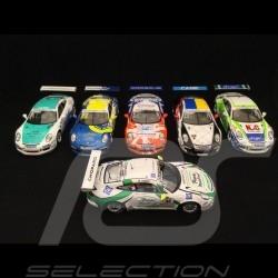 Set de 6 Porsche 991 GT3 Cup Vainqueur Winner Sieger Carrera Cup nationales SG273 AS022 SF114 SJ051 UK001 SI005