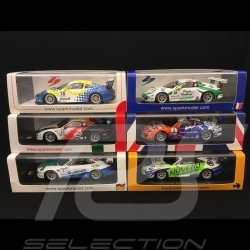 Set de 6 Porsche 991 GT3 Cup Vainqueur Winner Sieger Carrera Cup nationales SG273 AS022 SF114 SJ051 UK001 SI005
