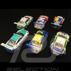 Set of 6 Porsche 991 GT3 Cup National Carrera Cup Winner SG273 AS022 SF114 SJ051 UK001 SI005