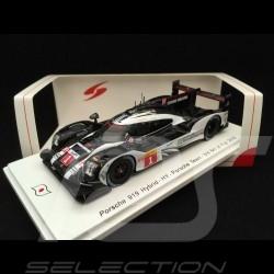 Porsche 919 Hybrid n° 1 6h Fuji 2016 1/43 Spark SJ048