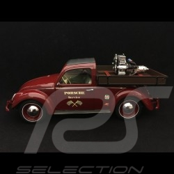 Volkswagen VW Beutler Porsche Service with Porsche Carrera engine red 1/18 Schuco 450009300