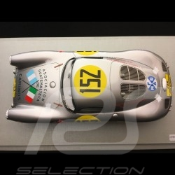 Porsche 550 Coupé vainqueur winner sieger Carrera Panamericana 1953 n° 152 1/18 Techno Model TM18-32A