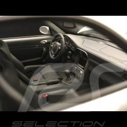 Porsche 911 GT2 type 997 2007 silver grey 1/18 Norev 187594