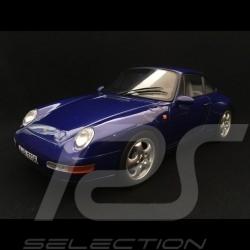 Porsche 911 typ 993 Carrera Coupé 1993 blau 1/18 Norev 187593