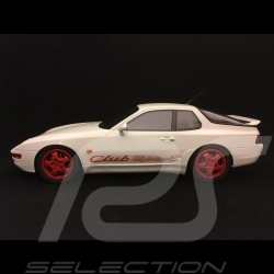 Porsche 968 Club Sport 1993 blanc grand prix Grand Prix white Grand Prix weiß 1/18 GT Spirit ZM092