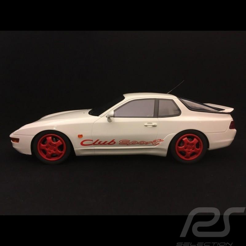 Porsche 968 Club Sport 1993 Grand Prix white 1/18 GT Spirit ZM092