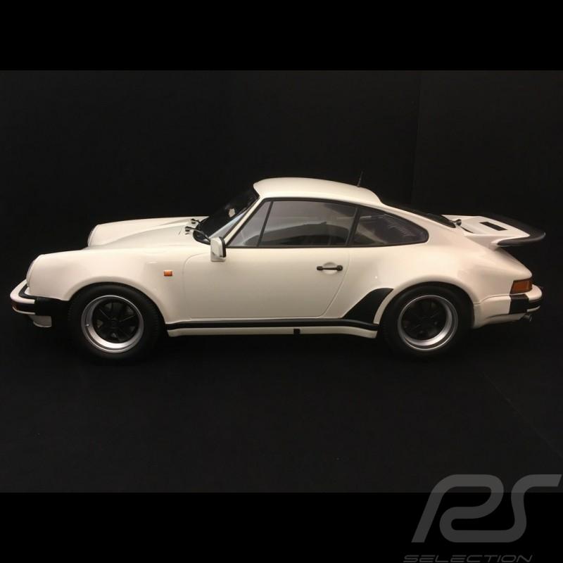 Porsche 911 Turbo 3.0 1977 blanc Grand Prix 1/12 Minichamps 123066103