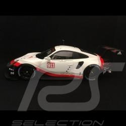 Porsche 911 GT3 RSR type 991 Présentation Presentation Präsentation 1953 2017 n° 911 1/18 Spark WAP0211580H