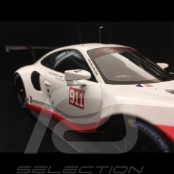 Porsche 911 GT3 RSR type 991 Presentation 2017 n° 911 1/18 Spark WAP0211580H