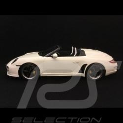 Porsche 911 Speedster 997 2010 Carrara weiß 1/18 GT Spirit WAX20140014