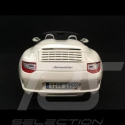 Porsche 911 Speedster 997 2010 Blanc Carrara 1/18 GT Spirit WAX20140014