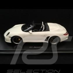 Porsche 911 Speedster 997 2010 Carrara white 1/18 GT Spirit WAX20140014