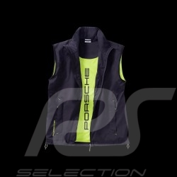 Porsche Jacket without sleeves Sport Collection black / acid green Porsche Design WAP547 - unisex