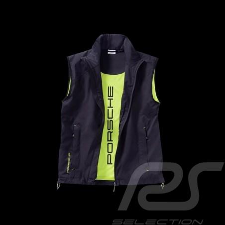 Porsche Jacket without sleeves Sport Collection black / acid green Porsche Design WAP547 - unisex