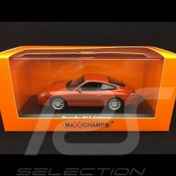 Porsche 911 Carrera type 996 2001 orange rot metallic 1/43 Minichamps 940061021