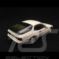 Porsche 924 S 1986 white 1/43 Spark S4460