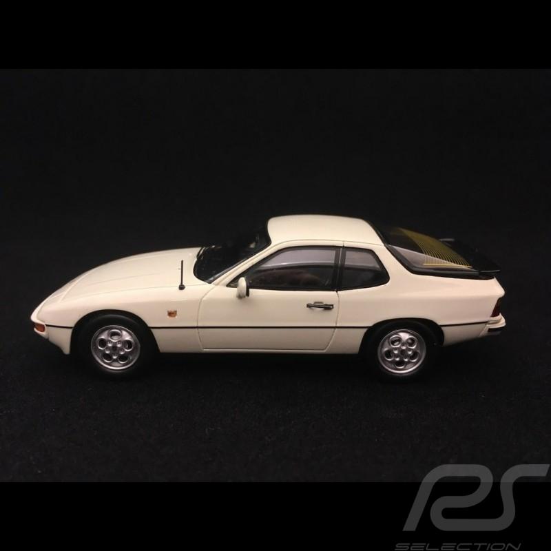 Porsche 924 S 1986 1/43 Spark S4460 blanche white weiß
