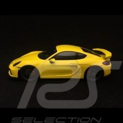 Porsche Cayman GT4 2016  1/43 Spark S4939 jaune racing yellow gelb