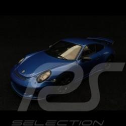 Porsche 911 GT3 type 991 phase II saphirblau metallic 1/43 Spark WAX02020063