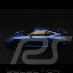 Porsche 911 GT3 type 991 phase II metallic sapphire blue 1/43 Spark WAX02020063