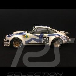 Porsche 934 RSR vainqueur winner Sieger Le Mans 1977 n° 58 Kremer Wollek 1/18 TOP SPEED TS0057