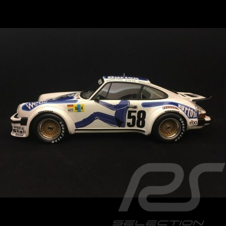 Porsche 934 RSR Sieger Le Mans 1977 n° 58 Kremer  Wollek 1/18 TOP SPEED TS0057