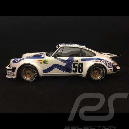 Porsche 934 RSR winner Le Mans 1977 n° 58 Kremer  Wollek 1/18 TOP SPEED TS0057