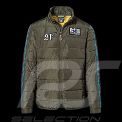 Porsche Jacket Martini Racing Collection quilted khaki green WAP558J - men